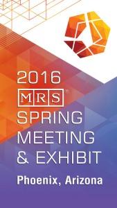 MRS Spring 2016